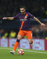 Manchester City's Ilkay Gundogan<br /> <br /> Photographer Rob Newell/CameraSport<br /> <br /> UEFA Champions League Quarter-finals 1st Leg - Tottenham Hotspur v Manchester City - Tuesday 9th April 2019 - White Hart Lane - London<br />  <br /> World Copyright © 2018 CameraSport. All rights reserved. 43 Linden Ave. Countesthorpe. Leicester. England. LE8 5PG - Tel: +44 (0) 116 277 4147 - admin@camerasport.com - www.camerasport.com