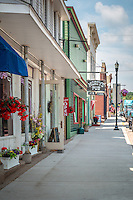 Historic downtown Bayfield Wisconsin.