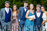 Zach Buckley, Orla Murphy, Sean Langford, Amy Naughton, Gary Murphy and Ciara Tangney, pictured at MIlltown Presentation Secondary School Debs, held at the Earl of Desmond Hotel, Tralee, on Thursday, July 25th last.