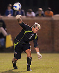 31 March 2007: Kansas City goalkeeper Kevin Hartman. The Kansas City Wizards tied the Columbus Crew 0-0 at Spry Stadium in Winston-Salem, North Carolina in an MLS preseason match.