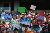 Carson, CA - Thursday August 03, 2017: Fans during a 2017 Tournament of Nations match between the women's national teams of the United States (USA) and Japan (JPN) at the StubHub Center.
