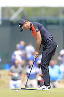 Danny Willett (ENG) putts on the 13th green during Thursday's Round 1 of the 118th U.S. Open Championship 2018, held at Shinnecock Hills Club, Southampton, New Jersey, USA. 14th June 2018.<br /> Picture: Eoin Clarke | Golffile<br /> <br /> <br /> All photos usage must carry mandatory copyright credit (&copy; Golffile | Eoin Clarke)