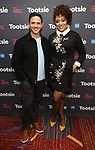 """Santino Fontana and Lilli Cooper attends the Cast Meet & Greet for Broadway's """"Tootsie"""" The Musical at the New York Mariott Marquis Hotel on March 13, 2019 in New York City."""