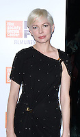 NEW YORK, NY-October 03:Michelle Williams at 54th NewYork Film Festival premiere of Certain Women at Alice Tully Hall at Lincoln Center in New York.October 03, 2016. Credit:RW/MediaPunch