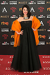 Ana Fernandez attends 30th Goya Awards red carpet in Madrid, Spain. February 06, 2016. (ALTERPHOTOS/Victor Blanco)