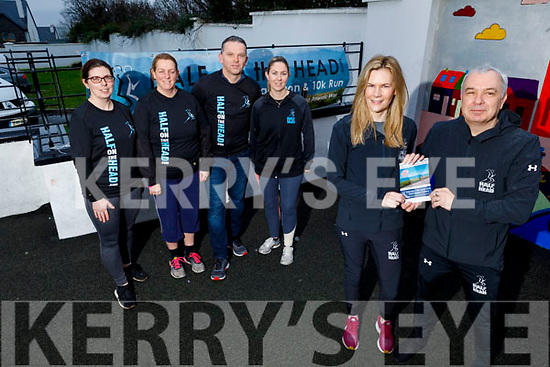 Launching the Kerry Half of the Head in Ballyheigue on Tuesday.<br /> Front Mick Harkin and Marion Godley.<br /> Back l to r: Sandra Naughton, Seamus Falvey, Susan Lacey and Fiona O'Sullivan