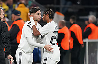 Suat Serdar (Deutschland Germany) kommt für Serge Gnabry (Deutschland Germany) - 09.10.2019: Deutschland vs. Argentinien, Signal Iduna Park, Freunschaftsspiel<br /> DISCLAIMER: DFB regulations prohibit any use of photographs as image sequences and/or quasi-video.