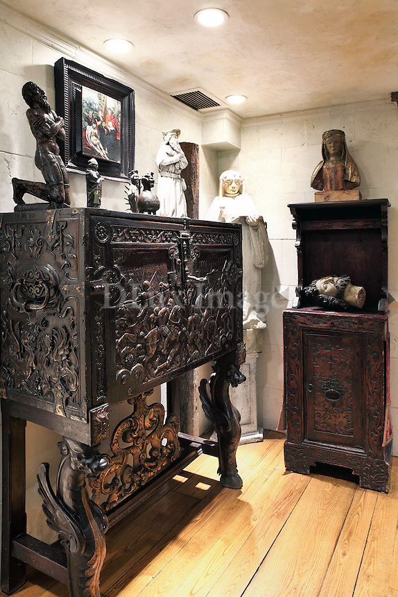 baroque style cabinet