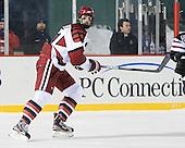 Petr Placek (Harvard - 27) - The Union College Dutchmen defeated the Harvard University Crimson 2-0 on Friday, January 13, 2012, at Fenway Park in Boston, Massachusetts.