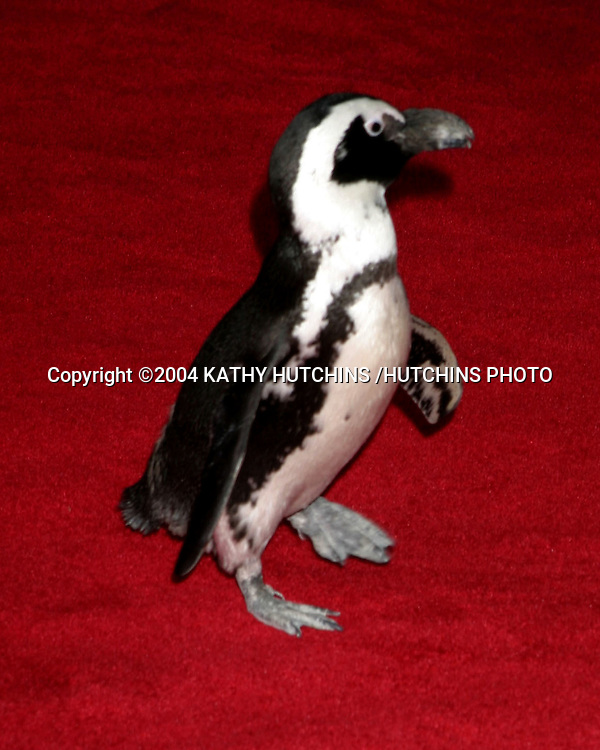 "©2004 KATHY HUTCHINS /HUTCHINS PHOTO.40TH ANNIVERSARY OF ""MARY POPPINS"" PREMIERE.AND DVD LAUNCH.LOS ANGELES, CA.NOVEMBER 30,2004..PENGUINS"