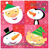 Sarah, CHRISTMAS ANIMALS, WEIHNACHTEN TIERE, NAVIDAD ANIMALES, paintings+++++Ch-04-A-1,USSB95,#xa# ,penguins ,napkins