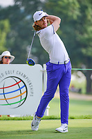 Tommy Fleetwood (ENG) on the 2nd tee during Friday's round 2 of the World Golf Championships - Bridgestone Invitational, at the Firestone Country Club, Akron, Ohio. 8/4/2017.<br /> Picture: Golffile | Ken Murray<br /> <br /> <br /> All photo usage must carry mandatory copyright credit (&copy; Golffile | Ken Murray)
