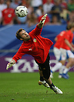 12 June 2006: Goalkeeper Petr Cech (CZE). The Czech Republic defeated the United States 3-0 at Veltins Arena in Gelsenkirchen, Germany in match 10, a Group E first round game, of the 2006 FIFA World Cup.