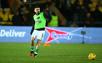 4th March 2020; Almondvale Stadium, Livingston, West Lothian, Scotland; Scottish Premiership Football, Livingston versus Celtic; Greg Taylor of Celtic during the warm up