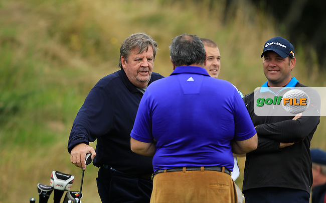 Johan Rupert during Round 2 of the Alfred Dunhill Links Championship at Kingsbarns Golf Club on Friday 27th September 2013.<br /> Picture:  Thos Caffrey / www.golffile.ie