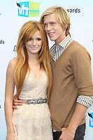 SANTA MONICA, CA - AUGUST 19: Bella Thorne and Tristan Klier at the 2012 Do Something Awards at Barker Hangar on August 19, 2012 in Santa Monica, California. Credit: mpi21/MediaPunch Inc. /NortePhoto.com<br />