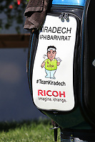 Kiradech Aphibarnrat (THA) bag on the 7th tee during Saturday's Round 3 of the 2018 Omega European Masters, held at the Golf Club Crans-Sur-Sierre, Crans Montana, Switzerland. 8th September 2018.<br /> Picture: Eoin Clarke | Golffile<br /> <br /> <br /> All photos usage must carry mandatory copyright credit (&copy; Golffile | Eoin Clarke)