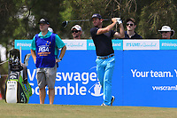 Josh Geary (NZL) on the 3rd tee during Round 3 of the Australian PGA Championship at  RACV Royal Pines Resort, Gold Coast, Queensland, Australia. 21/12/2019.<br /> Picture Thos Caffrey / Golffile.ie<br /> <br /> All photo usage must carry mandatory copyright credit (© Golffile | Thos Caffrey)