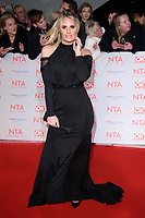 Danielle Armstrong<br /> arriving for the National Television Awards 2018 at the O2 Arena, Greenwich, London<br /> <br /> <br /> ©Ash Knotek  D3371  23/01/2018