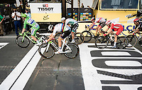 Sam Bennett (IRE/Deceuninck-Quick Step) wins the bunchsprint into Paris<br /> <br /> Stage 21 from Mantes-la-Jolie to Paris (122km)<br /> <br /> 107th Tour de France 2020 (2.UWT)<br /> (the 'postponed edition' held in september)<br /> <br /> ©kramon