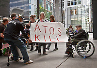 09.05.2011 - Disabled People Against Atos Origin