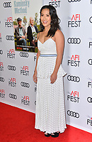 "LOS ANGELES, CA. November 10, 2018: Melissa Tang at the AFI Fest 2018 world premiere of ""The Kominsky Method"" at the TCL Chinese Theatre.<br /> Picture: Paul Smith/Featureflash"