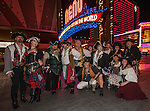 The Pirates of Reno group during the Pirate Crawl held in downtown Reno on Saturday night, August 13, 2016.