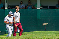 Thomas Detry (BEL) and Zander Lombard (RSA) during the 3rd round at the Nedbank Golf Challenge hosted by Gary Player,  Gary Player country Club, Sun City, Rustenburg, South Africa. 16/11/2019 <br /> Picture: Golffile | Tyrone Winfield<br /> <br /> <br /> All photo usage must carry mandatory copyright credit (© Golffile | Tyrone Winfield)