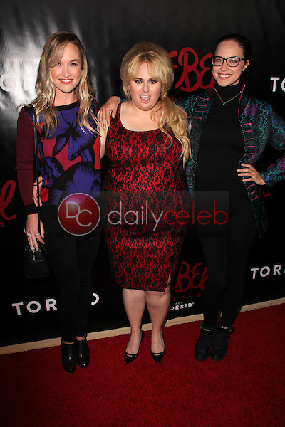 Kelley Jakle, Rebel Wilson, Alexis Knapp<br />