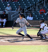 Braden Bishop - Peoria Javelinas - 2017 Arizona Fall League (Bill Mitchell)