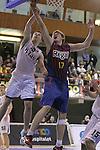 06.01.2012 Hospitalet, Spain. Torneig de Basquet Junior Ciutat de l'Hospitalet. FC Barcelona Lietuvos Rytas. Final