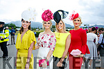 Enjoying the Killarney Races on Thursday were Leanne Durkin, Jessica Power, Lesley Boland and Susan Flanagan