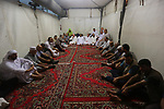 Advisor to the President for Religious Affairs, Chief Justice Dr. Mahmoud Al-Habbash visits the tent city of Mina southeast of the Saudi holy city of Mecca on August 12 2019. Photo by Ashraf Amra