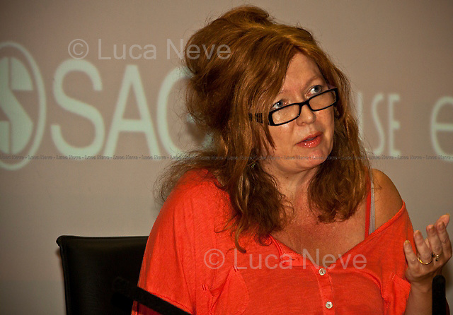 Suzanne Moore, English journalist - 2011<br /> <br /> London, 28/06/2011. A parterre de roi for this meeting organised by LSE (London School Of Economics) to discuss gagging orders, tabloid intrusion, and the right to privacy and a private life. The speakers included: George Gaskell (Pro-Director of LSE and Professor of Social Psychology), Suzanne Moore (award-winning columnist for the Guardian and the Mail on Sunday), Max Mosley (former president of Formula One), David Price (QC, founder of London media law firm David Price Solicitors & Advocates), Hugh Tomlinson (QC of Matrix Chambers, specialist in media and information law including defamation, confidence, privacy and data protection). Chair of the event was Jo Glanville (editor of Index on Censorship and member of the Ministry of Justice working party on libel reform).