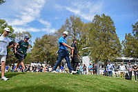 Jon Rahm (ESP) and Patrick Reed (USA) head down 11 during round 2 of the World Golf Championships, Mexico, Club De Golf Chapultepec, Mexico City, Mexico. 2/22/2019.<br /> Picture: Golffile | Ken Murray<br /> <br /> <br /> All photo usage must carry mandatory copyright credit (&copy; Golffile | Ken Murray)