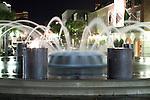 Charleston Waterfront Park Fountain at night