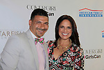 Steve Perry and Soledad O'Brien at Soledad O'Brien and Brad Raymond Starfish Foundation presents New Orleans to New York City 2014 Gala on July 24, 2014 at Espace, New York City for VIP Cocktail Reception, dinner, entertainment with Grammy Award winning Trumpeteer Irvin Mayfield (also Board president) and the New Orleans Jazz Orchestra. (Photo by Sue Coflin/Max Photos)