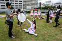 JUNE 12, 2016 -  Cosplayers pose for photographers at Love Cul Spirit, a cosplay event in Nagoya, Japan. (Photo by Ben Weller/AFLO) (JAPAN) [UHU]