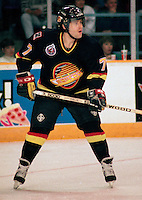 Cliff Ronning Vancouver Canucks 1993. Photo F. Scott Grant