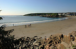 Sand Beach in York, Maine, USA