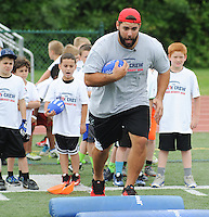 Justin Pugh Football Camp In Newtown, Pennsylvania