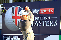 Luke Donald (ENG) during the Hero Pro-Am at the Sky Sports British Masters, Walton Heath Golf Club, Surrey, England. 7-10-2018.<br /> Picture Fran Caffrey / Golffile.ie<br /> <br /> All photo usage must carry mandatory copyright credit (© Golffile | Fran Caffrey)