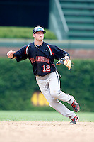 August 8, 2009:  Infielder Zach Alvord (12) of the Baseball Factory team during the Under Armour All-America event at Wrigley Field in Chicago, IL.  Photo By Mike Janes/Four Seam Images