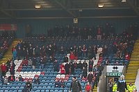 Walsall fans in few numbers take their seats during the Sky Bet League 1 match between Rochdale and Walsall at Spotland Stadium, Rochdale, England on 23 December 2017. Photo by Juel Miah / PRiME Media Images.