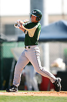 February 20, 2009:  Outfielder Ryan Lockwood (6) of the University of South Florida during the Big East-Big Ten Challenge at Jack Russell Stadium in Clearwater, FL.  Photo by:  Mike Janes/Four Seam Images
