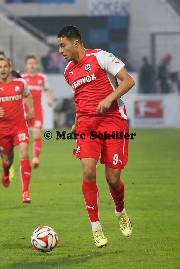 Aziz Bouhaddouz (SVS) - FSV Frankfurt vs. 1. FC Kaiserslautern, Frankfurter Volksbank Stadion