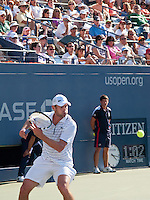 Andy Roddick - Eyes on the ball - US Open - 2008 -Flushing Meadow Park, NY