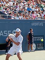 Andy Roddick - Eyes on the ball - US Open - 2008 -Flushing Meadow Park, NY