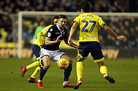 Bradley Dack of Blackburn Rovers and Ryan Leonard of Millwall during Millwall vs Blackburn Rovers, Sky Bet EFL Championship Football at The Den on 12th January 2019