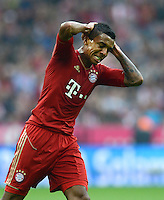 FUSSBALL   1. BUNDESLIGA  SAISON 2012/2013   2. Spieltag FC Bayern Muenchen - VfB Stuttgart      02.09.2012 Luiz Gustavo (FC Bayern Muenchen)